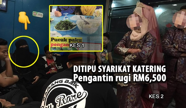 Pengantin Rugi RM6,500, Katering Tak Muncul Di Majlis Raja Sehari