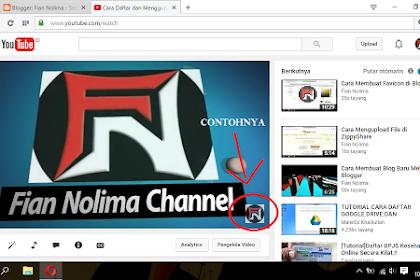 Cara Menampilkan Watermark di Video Youtube