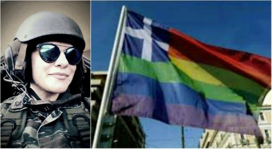 Βασιλική Μπουμπουλούδη: «Νιώθω ντροπή αντικρίζοντας την ελληνική σημαία πολύχρωμη»