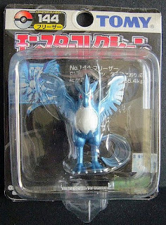 Articuno Pokemon figure Tomy Monster  Collection black package series