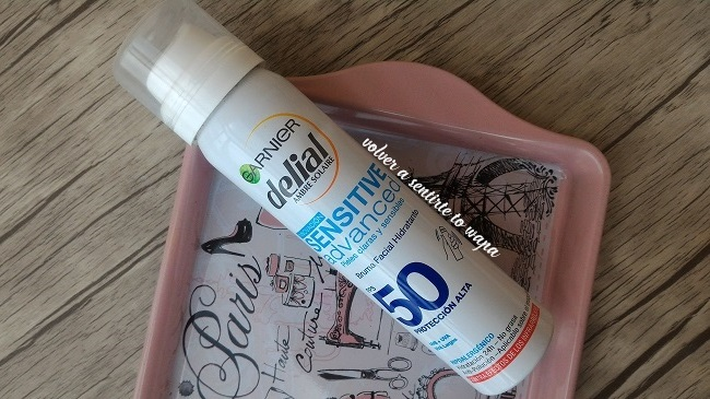 Bruma facial hidratante con protección solar de Delial
