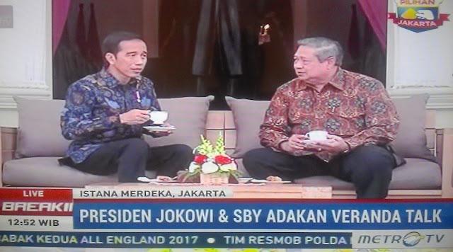 Akhirnya SBY Temui Presiden Jokowi di Istana Merdeka