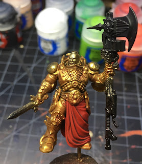 Adeptus Custodes Shield-Captain WIP