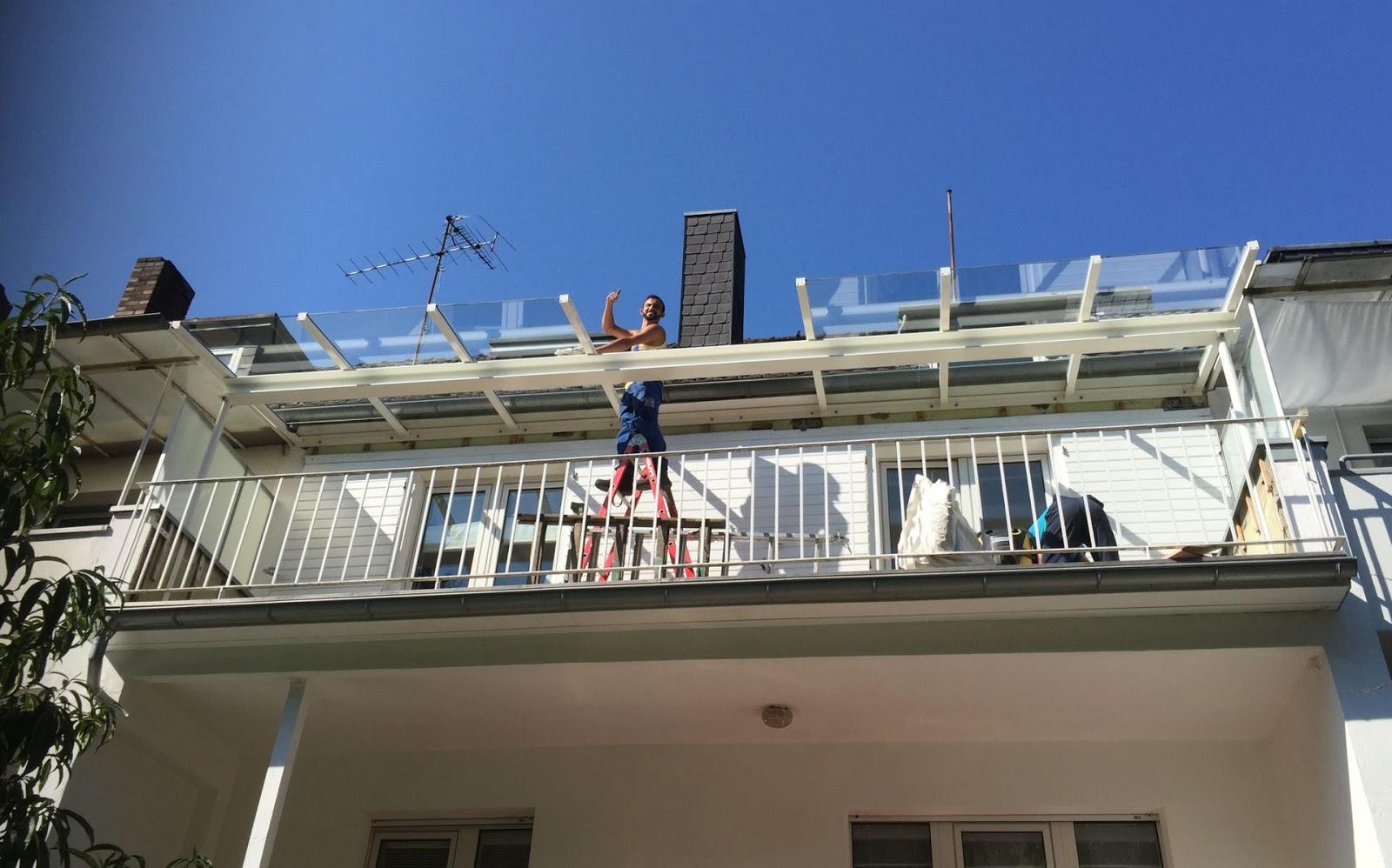 Uberdachung Dachterrasse