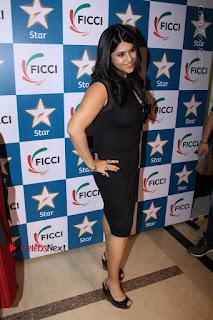 Ekta Kapoor Anurag Kashyap & Ramesh SippyAt at FICCI FRAMES 2017  0030.JPG