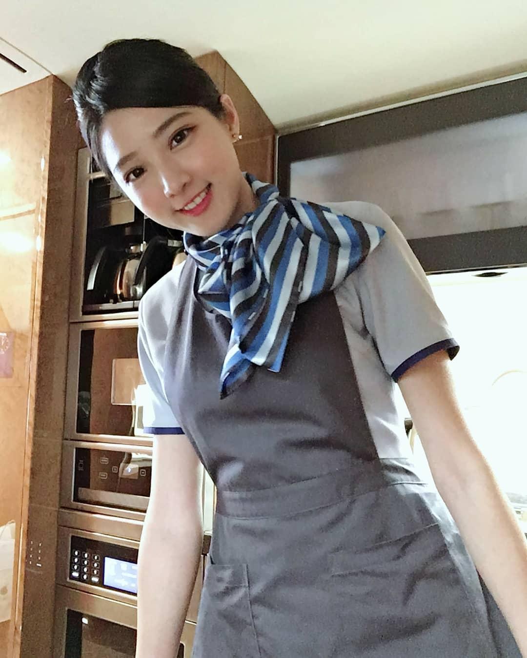 대만의 흔한 승무원