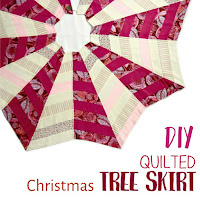 How to make a quilted tree skirt this Christmas.