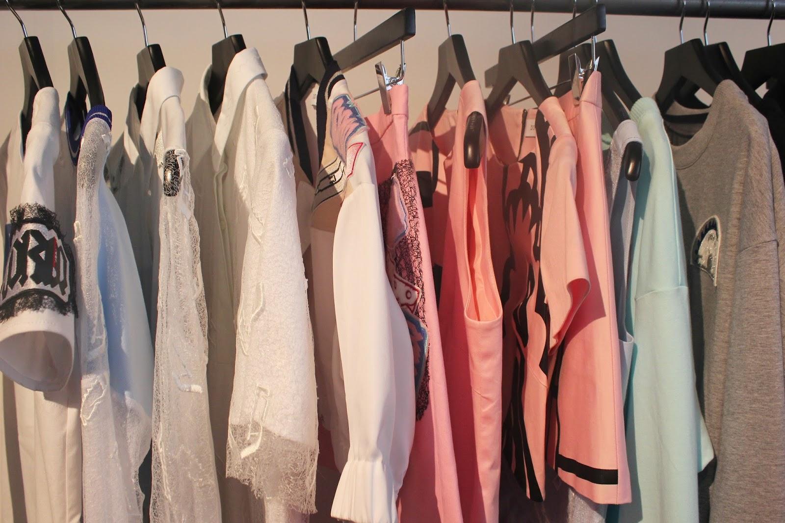 Georgie Minter-Brown, actress, blogger, london fashion week, designer showrooms, designer, clothes, fashion, doris q