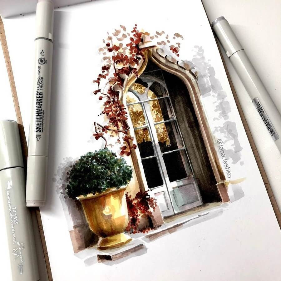 01-Gothic-Window-Lena-Leshko-www-designstack-co