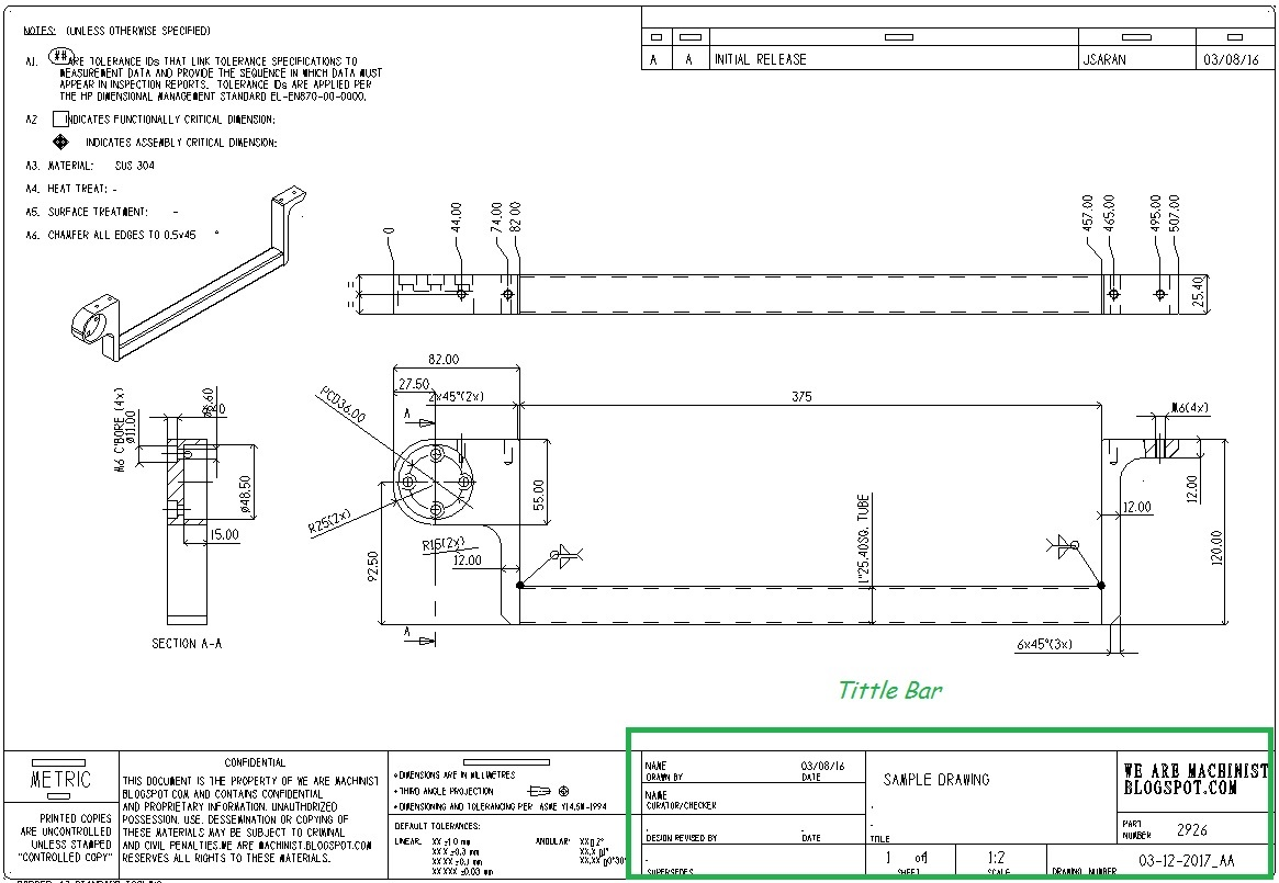 how to read mechanical drawing learning cnc. Black Bedroom Furniture Sets. Home Design Ideas