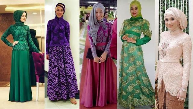 kumpulan model kebaya muslim terbaru