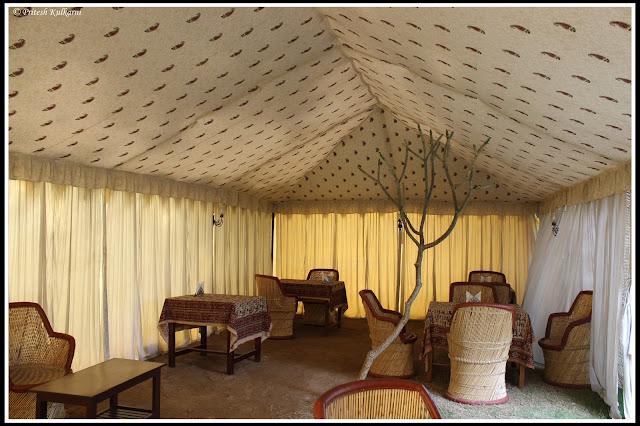 Dining area, Anuraag Hotel