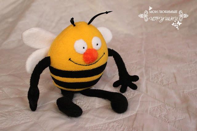пчела, мои любимые игрушки