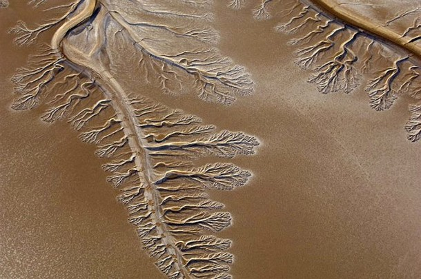 Amazing Places in the world Baja California Desert Riverbeds