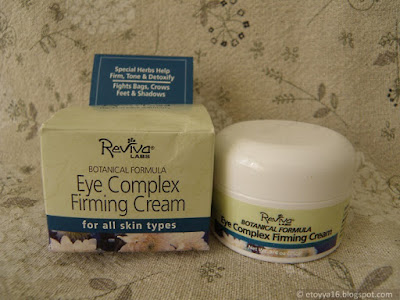 Reviva Labs, Eye Complex Firming Cream