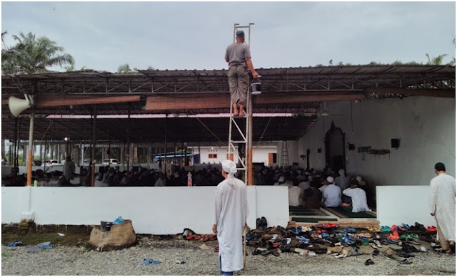 Markas Jamaah Tabligh Medan, Islamic Centre Sumut