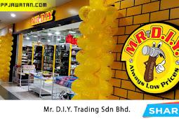 Jawatan Kosong Terkini di Mr. D.I.Y. Trading Sdn Bhd.