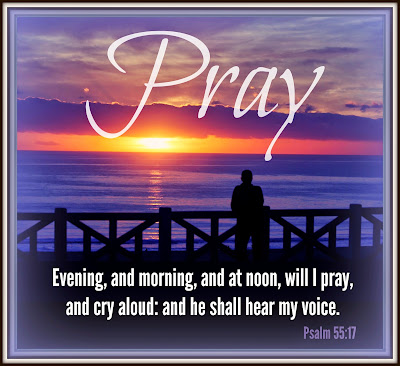 Image result for psalms 55:17
