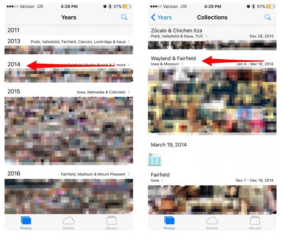 Cara Menghapus Koleksi Foto Di iPhone iPad