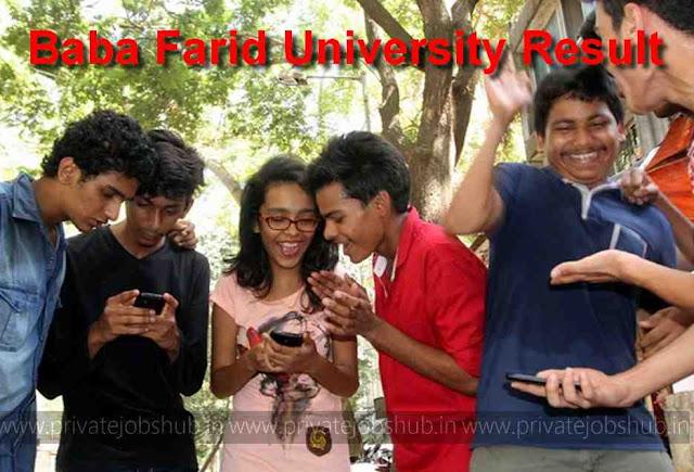 Baba Farid University Result