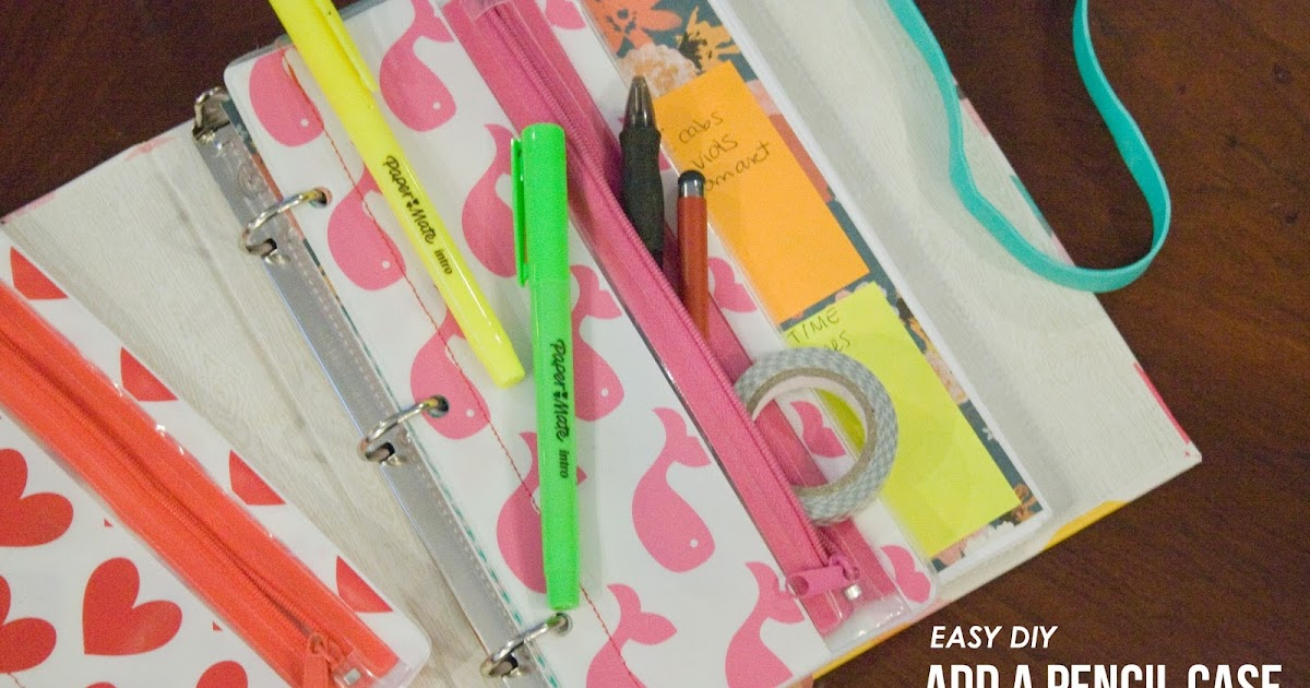 Five Sixteenths Blog Make It Monday A Pencil Case For