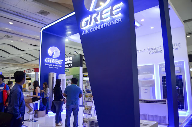 Gree Air Conditioner Trade Show Display