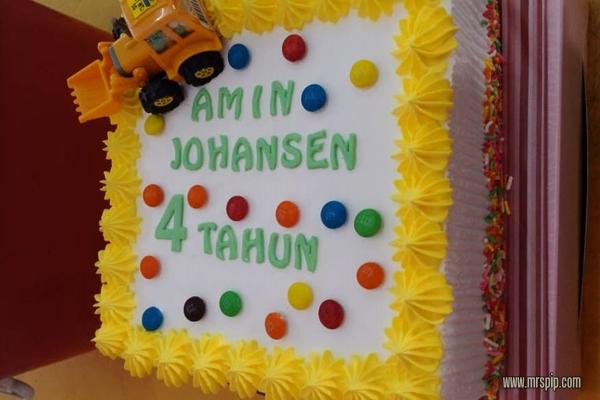 Sambutan birthday Amin Johansen 11.11  || 4 years old and counting