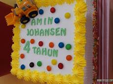Sambutan birthday Amin Johansen 11.11     4 years old and counting