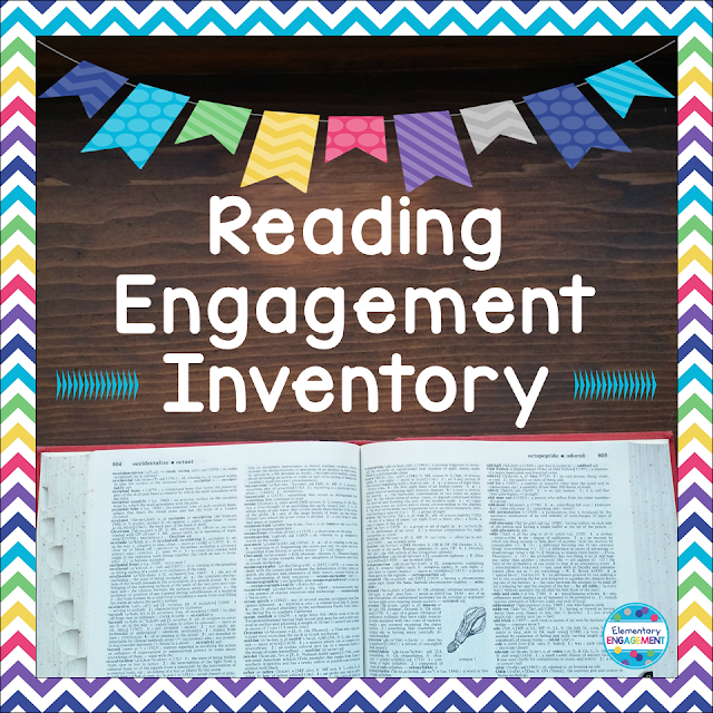 An Engagement Inventory is a great way to monitor independent reading.  This post has one as a free download.