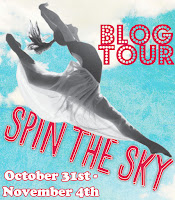 SPIN THE SKY Blog Tour by by Jill MacKenzie with Giveaway and MORE !!!