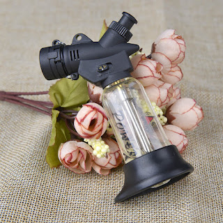 Windproof Jet Flame 1300-C Butane Lighter Cigarette Welding Torch Lighter DA