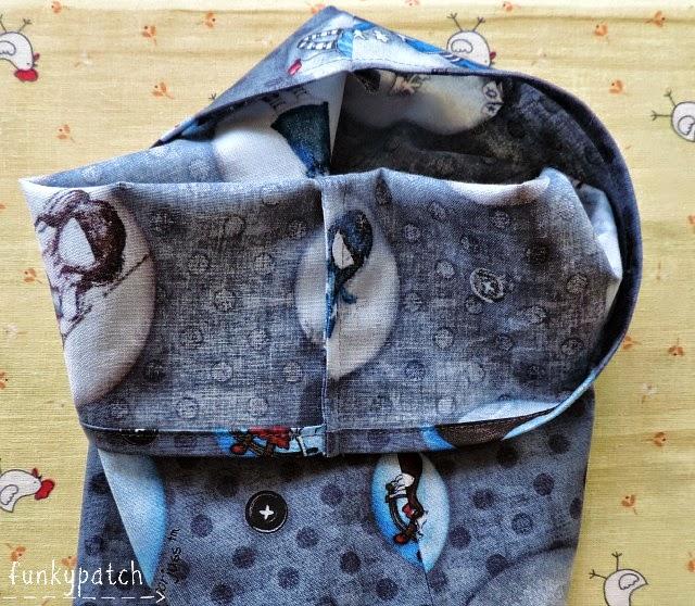 Como hacer una bolsita con costura francesa