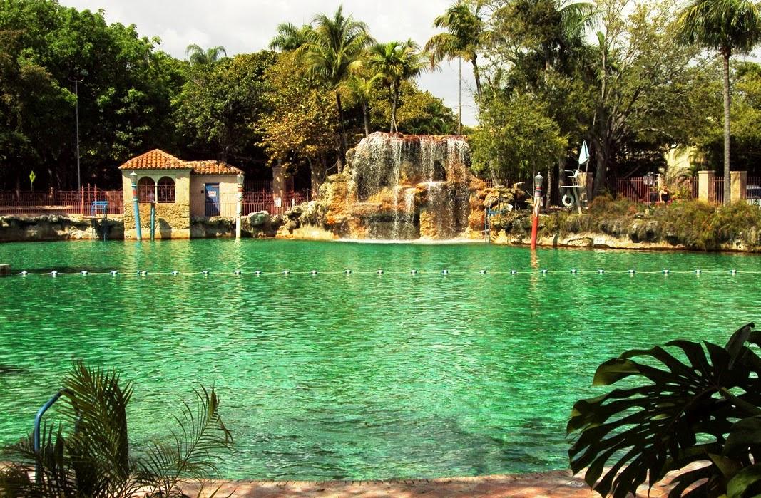 Ponto turístico Miami Venetian Pool
