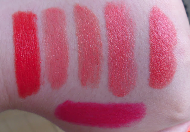 Mac Coral Lipstick Swatches