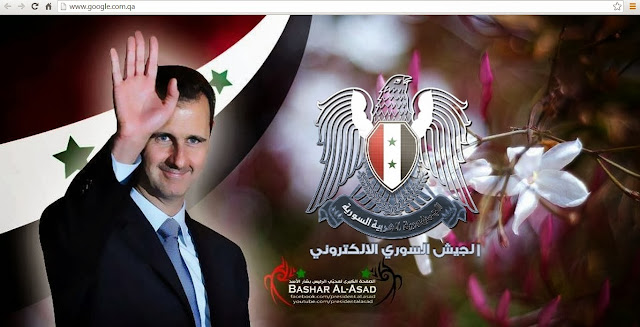 Google do Qatar foi desconfigurado pela elite hacker do ditador Bashar Al-Asad os conhecidos (SEA) - Syrian Electronic Army Hack.