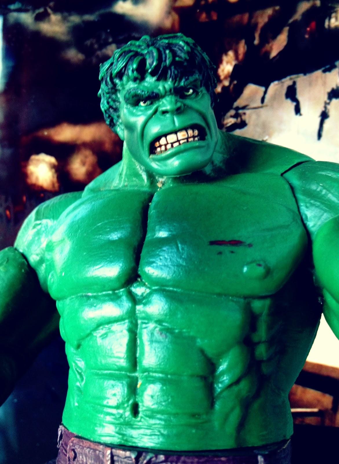 Combo's Action Figure Review: Hulk - Face Off (Marvel Legends)
