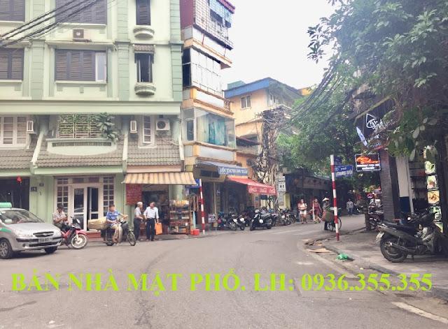 Bán khách sạn mặt phố Lương Ngọc Quyến, Hoàn Kiếm