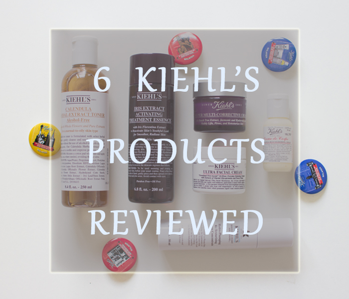 6 Kiehl's Products Reviewed