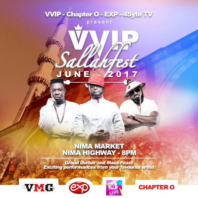 VVIP Set To feed 10,000 Patrons At 2017 SallahFest