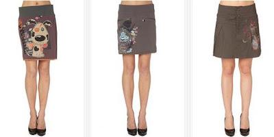Faldas originales y baratas