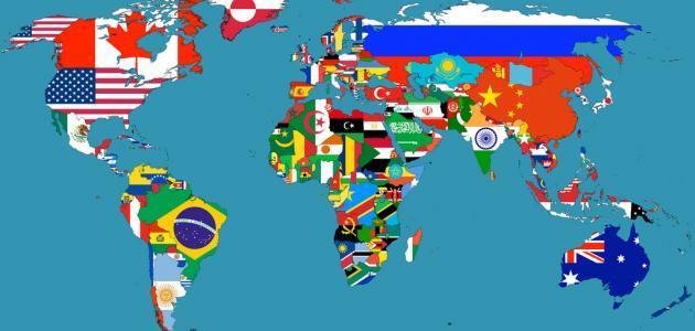 الدول العربية:أسمائها ،عواصمها ومساحاتها