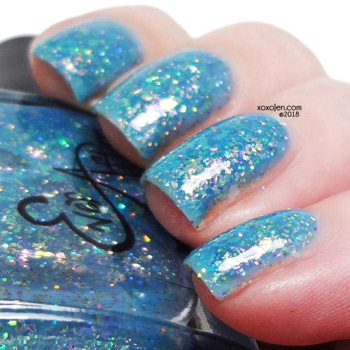 xoxoJen's swatch of Ever After o-pa-Leez