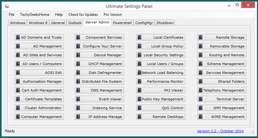 Ultimate Settings Panel Released 8