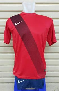 Jersey Setelan Futsal Nike Sash terbaru musim 2015/2016 warn merah di enkosa sport toko online jersey bola terpercaya