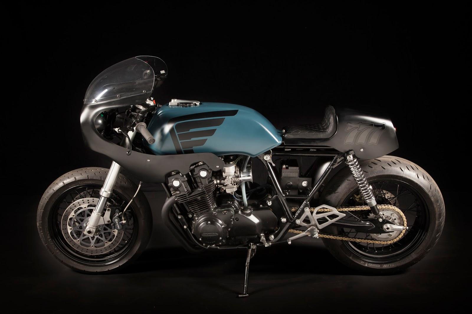 Bell Moto 9 Noir >> «Bol Noir» Honda CB750   Deep Creek Cycle Works - RocketGarage - Cafe Racer Magazine