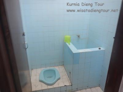kamar mandi hotel petra wonosobo