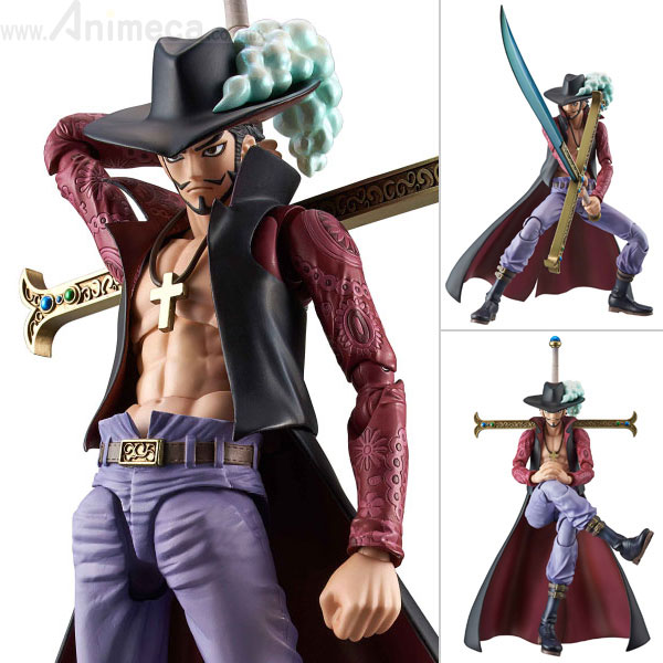 Figura Dracule Mihawk Variable Action Heroes One Piece