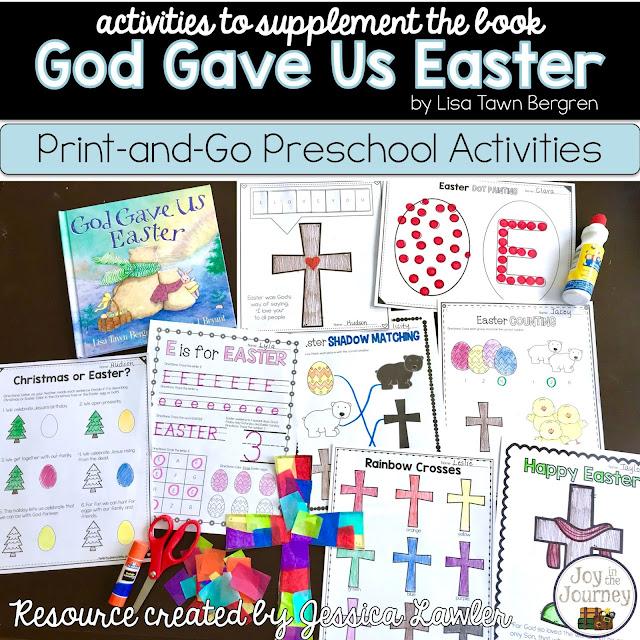 God Gave Us Easter - Preschool Activities - Joy in the