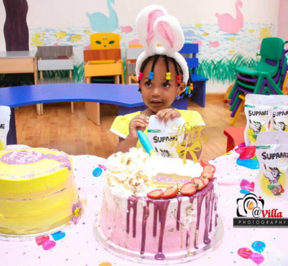 Ahmed Musa Celebrates Daughter As She Turns One