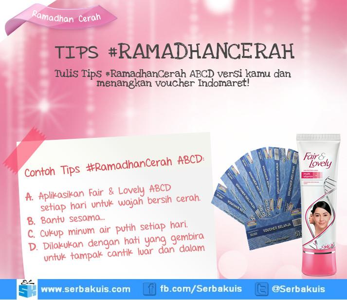 Kuis Ramadhan Cerah Berhadiah Voucher Indomaret Total 6 Juta
